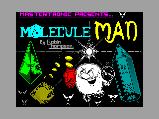 MOLECULE MAN — ZX SPECTRUM GAME ИГРА
