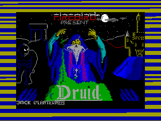 Druid — ZX SPECTRUM GAME ИГРА