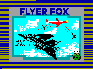Flyer Fox — ZX SPECTRUM GAME ИГРА