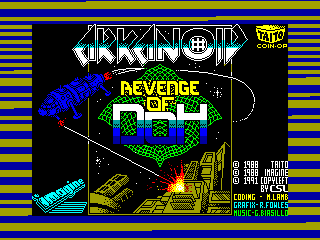 ARKANOID 2 — ZX SPECTRUM GAME ИГРА