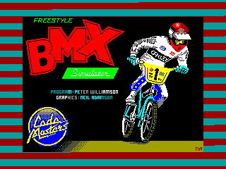 BMX Freestyle — ZX SPECTRUM GAME ИГРА