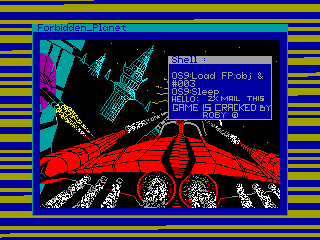 FORBIDDEN PLANET — ZX SPECTRUM GAME ИГРА