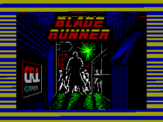 Blade Runner — ZX SPECTRUM GAME ИГРА