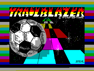 Trailblazer — ZX SPECTRUM GAME ИГРА