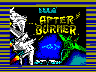 Afterburner — ZX SPECTRUM GAME ИГРА