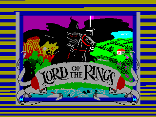 LORDS OF THE RINGS — ZX SPECTRUM GAME ИГРА