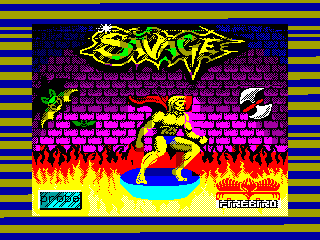 SAVAGE 3 — ZX SPECTRUM GAME ИГРА