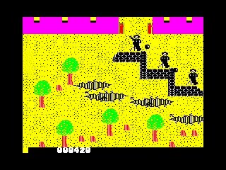 Who Dares Wins II — ZX SPECTRUM GAME ИГРА