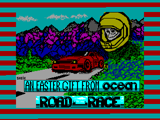 ROAD RACE — ZX SPECTRUM GAME ИГРА