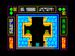 LAP OF THE GODS — ZX SPECTRUM GAME ИГРА