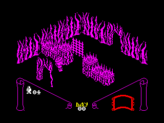 Knight Lore — ZX SPECTRUM GAME ИГРА