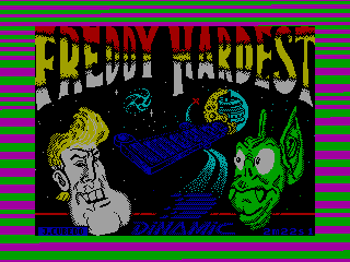 FREDDY HARDEST — ZX SPECTRUM GAME ИГРА