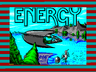 Energy Warrior — ZX SPECTRUM GAME ИГРА