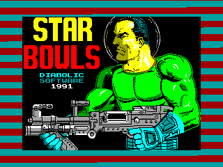Star Bowls — ZX SPECTRUM GAME ИГРА