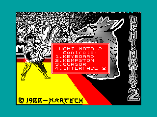 Uchi Mata — ZX SPECTRUM GAME ИГРА