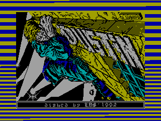 Dustin — ZX SPECTRUM GAME ИГРА