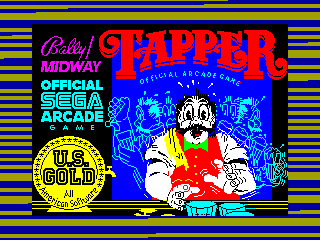 Tapper — ZX SPECTRUM GAME ИГРА