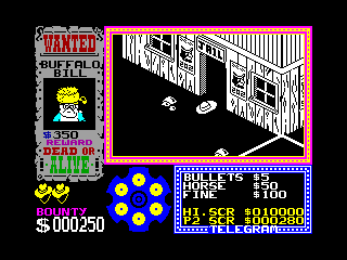 Gunfright — ZX SPECTRUM GAME ИГРА