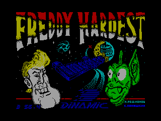 FREDDY HARDEST 2 — ZX SPECTRUM GAME ИГРА