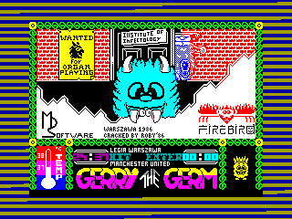 Gerry the Germ — ZX SPECTRUM GAME ИГРА