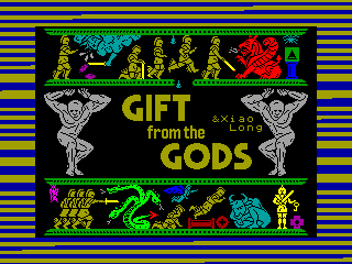 Gift from the Gods — ZX SPECTRUM GAME ИГРА
