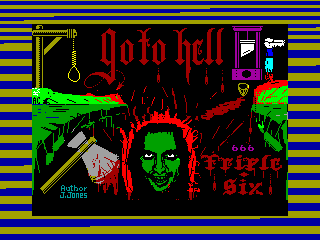 Go to Hell — ZX SPECTRUM GAME ИГРА