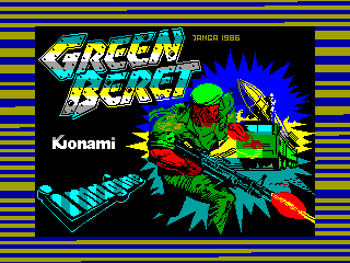 Green Beret — ZX SPECTRUM GAME ИГРА