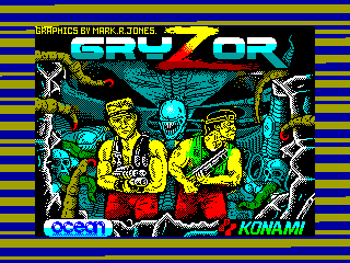Gryzor — ZX SPECTRUM GAME ИГРА