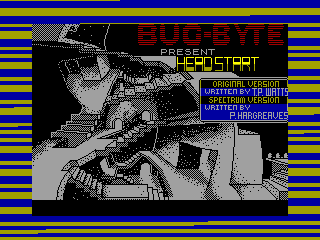 Headstart — ZX SPECTRUM GAME ИГРА