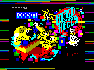 Head over Heels — ZX SPECTRUM GAME ИГРА