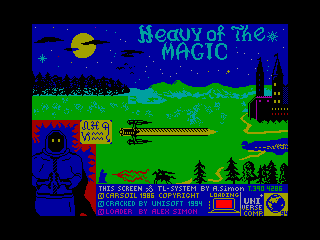 Heavy on the Magick — ZX SPECTRUM GAME ИГРА
