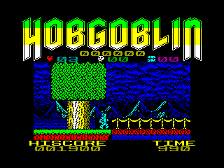 Hobgoblin — ZX SPECTRUM GAME ИГРА