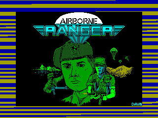 Airborne Ranger — ZX SPECTRUM GAME ИГРА