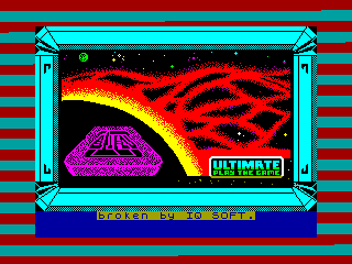 Alien 8 — ZX SPECTRUM GAME ИГРА