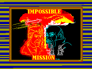 IMPOSSIBLE MISSION 1 — ZX SPECTRUM GAME ИГРА