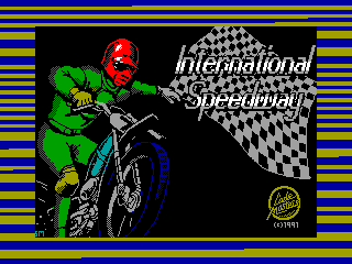 International Speedway — ZX SPECTRUM GAME ИГРА