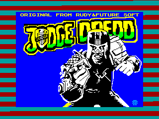 Judge Dredd — ZX SPECTRUM GAME ИГРА