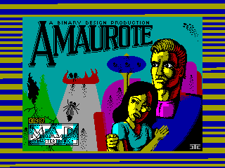Amaurote — ZX SPECTRUM GAME ИГРА