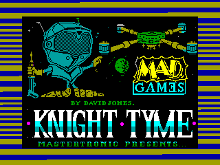 KNIGHT TIME — ZX SPECTRUM GAME ИГРА