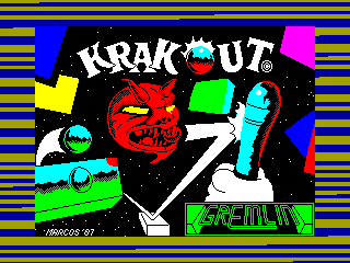 Krakout — ZX SPECTRUM GAME ИГРА