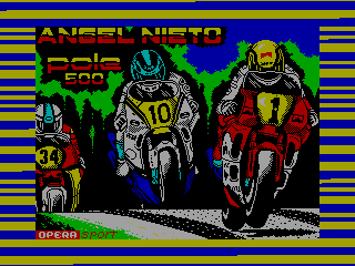 Angel Nieto Pole 500 — ZX SPECTRUM GAME ИГРА