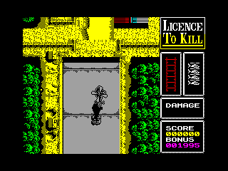 Licence to Kill — ZX SPECTRUM GAME ИГРА