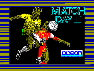 MATCH DAY II — ZX SPECTRUM GAME ИГРА