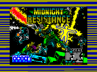 Midnight Resistance — ZX SPECTRUM GAME ИГРА