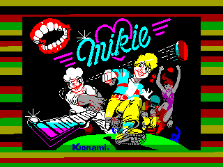 Mikie — ZX SPECTRUM GAME ИГРА