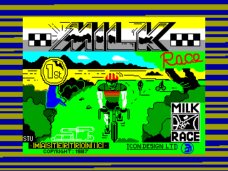 Milk Race — ZX SPECTRUM GAME ИГРА