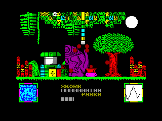 Monster Munch — ZX SPECTRUM GAME ИГРА