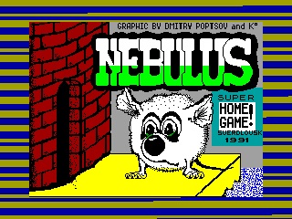 Nebulus — ZX SPECTRUM GAME ИГРА