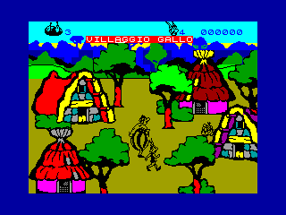 Asterix and the Magic Cauldron — ZX SPECTRUM GAME ИГРА