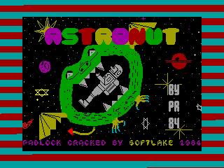 Astronut — ZX SPECTRUM GAME ИГРА